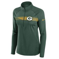 Packers Women's Logo Element 1/2 Zip