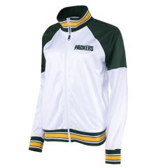 Packers Women's First Down Track Jacket