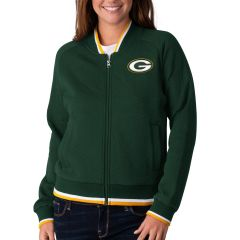 Packers Women's Touch Back Bomber Jacket