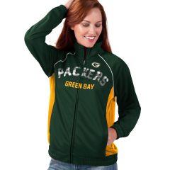 Packers Women's Backfield Full Zip Track Jacket