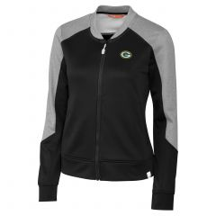 Packers Women's Pop Fly Full Zip Track Jacket