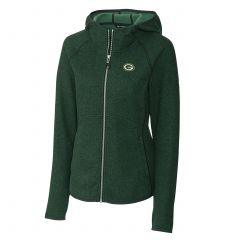 Packers Women's Mainsail Full Zip Hooded Jacket