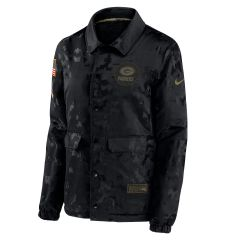 Packers Women's Salute to Service Snap Jacket