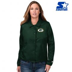Packers Women's Game Day Starter Coaches Jacket