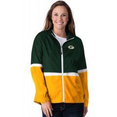 Packers Women's Off Season Light-Weight Jacket