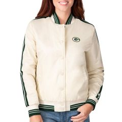 Packers Women's Winning Streak Varsity Jacket
