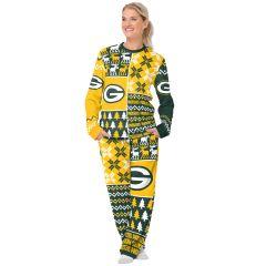 Packers Women's Ugly Crewneck Pajama Set