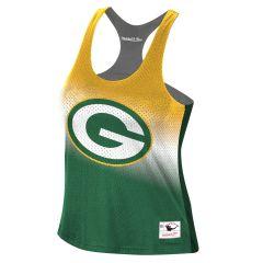 Packers Women's Reversible Mesh Tank Top