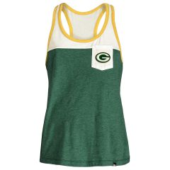 Packers Women's Pocket Racer Tank Top