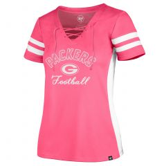 Packers Womens 47 Turnover V-Neck T-Shirt