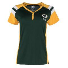 Packers Womens 47 Triple Stripe Henley