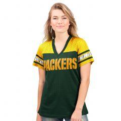 Packers Women's 4th Down Mesh T-Shirt