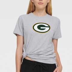 Packers Women's DKNY The Ava Side Tie T-Shirt