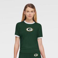 Packers Women's DKNY The Charlotte Ringer T-Shirt