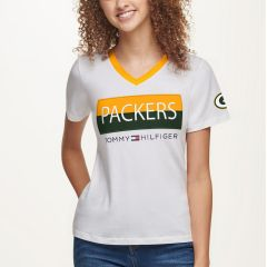 Packers Women's Tommy Hilfiger Patch T-Shirt