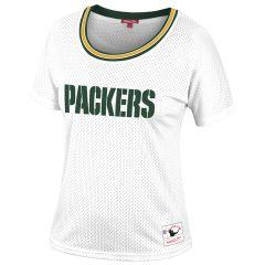 Packers Women's Slouchy Mesh T-Shirt