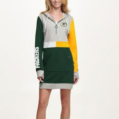 Packers Women's Tommy Hilfiger Hooded Dress