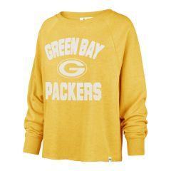 Packers Womens 47 Cover Star Fleece Crew