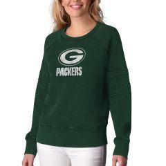 Packers Women's Loaded Fleece Crew