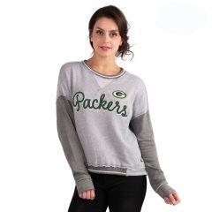 Packers Women's Wow Factor Crew Sweatshirt