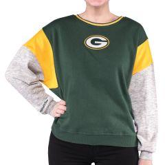 Packers Women's Color-Blocked Crew