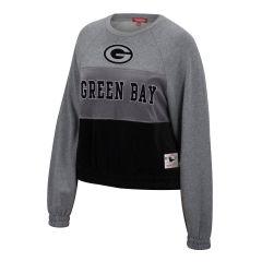 Packers Women's Velour Fleece Crew