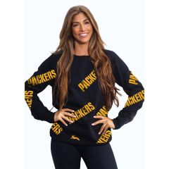Packers Women's Running Back Fleece Crew
