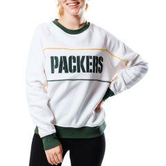 Packers Women's Sideline Brushed Fleece Crew