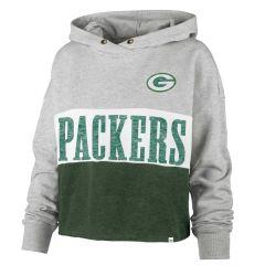 Packers Womens 47 Lizzy Cut Off Fleece PO Hoodie