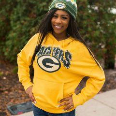 Packers Women's Fullback Fleece PO Hoodie