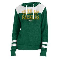 Packers Women's Tri-Blend Fleece PO Hoodie
