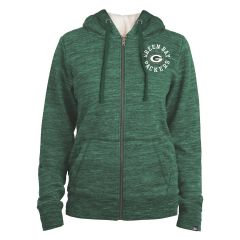 Packers Women's Space Dye French Terry Hoodie
