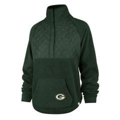 Packers Womens 47 Vale 1/4 Snap Fleece Top