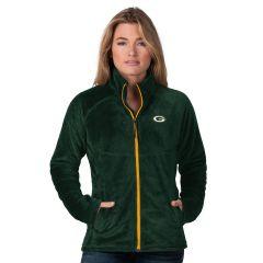 Packers Women's Tie Breaker Full Zip Fleece Jacket