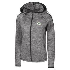 Packers Women's Slugger Full Zip Hoodie