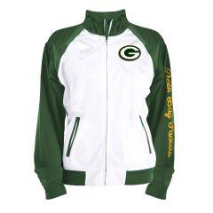 Packers Women's Tricot Fleece Full Zip Jacket