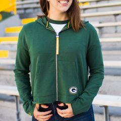 Packers Women's Erin Andrews Cropped Hoodie