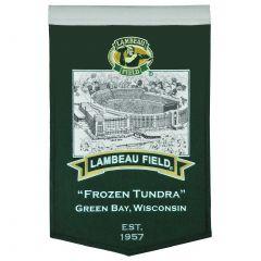 Green Bay Packers Lambeau Field Stadium Banner