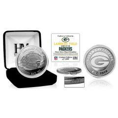 Lambeau Field Silver Game Coin