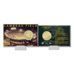 Lambeau Field Bronze Coin Card