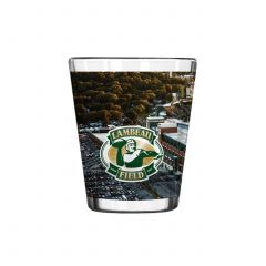 Lambeau Field Aerial View Sublimated Shot Glass