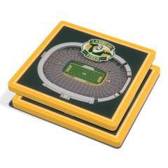Lambeau Field 3D StadiumView 2-pack Coaster