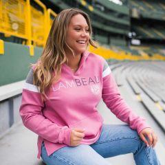 Lambeau Field Women's Relax Color-Blocked Hoodie