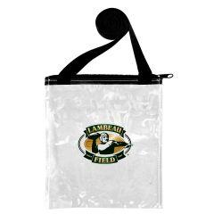 Green Bay Packers Lambeau Field Clear Ticket Bag