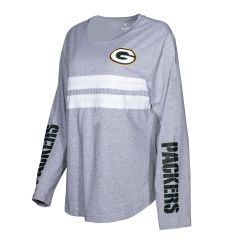 Packers Women's  Plus Size Pieced Front T-Shirt