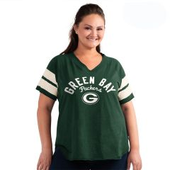 Packers Women's Plus Size Ground Game T-Shirt