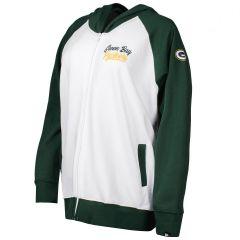 Packers Women's Plus Size Fleece Hoodie