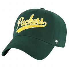 Packers Womens 47 Sparkle Swoop Clean Up Cap