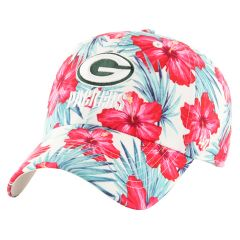 Packers 47 Womens Sharon Floral Clean Up Cap