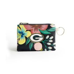 Packers Penny Floral Key Ring Purse